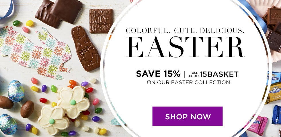 Colorful. Cute. Delicious. EASTER