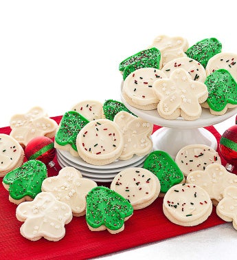 Cheryl's Frosted Holiday Cut-Outs