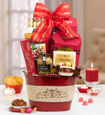 Gourmet Traditions Gift Basket