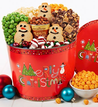 The Popcorn Factory® Merry Christmas Snack Asst