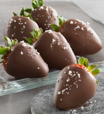 Fannie May Sea Salt Caramel Chocolate Strawberries