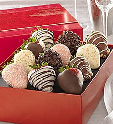Love & Romance Chocolate Strawberries