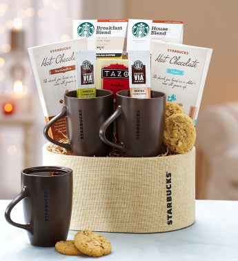 Starbucks® For Two Gift Basket