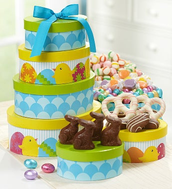 Hoppy Easter Assorted Sweets Tower