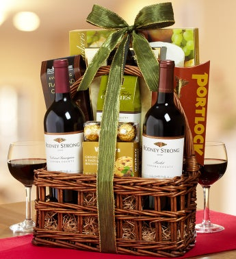 Rodney Strong® 2 Bottle Wine Gift Basket