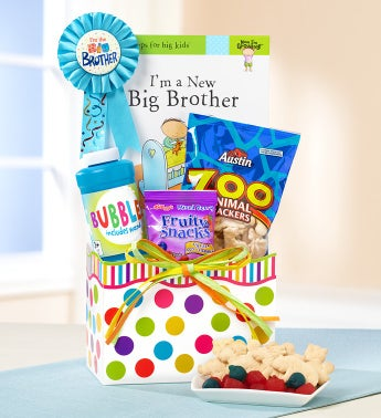 I'm a Big Brother Gift Basket with Book