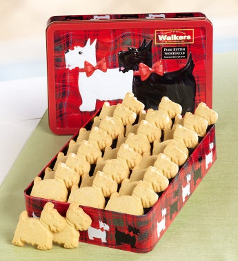 Walker's Scottie Dog Shaped Shortbread