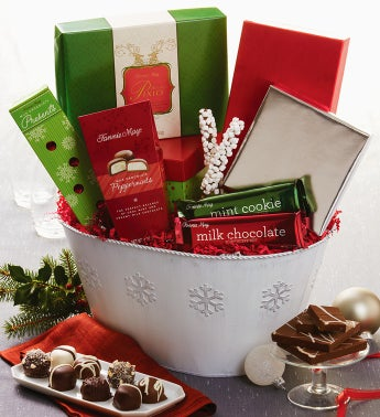 Fannie May® Festive Gathering Gift Basket