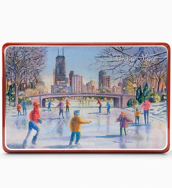 Fannie May® Chicago Holiday Chocolate Tin 1.5LB