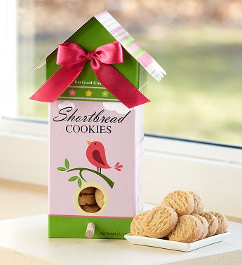 Tweet Spring Birdhouse with Shortbread