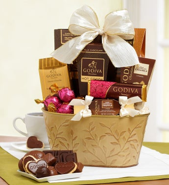 Spring Delight Godiva® Chocolate Basket