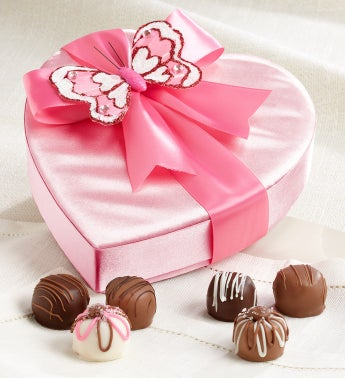 Sweet Shop USA® Butterfly Heart with Truffles