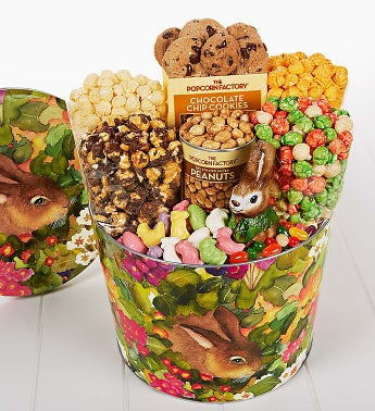 The Popcorn Factory® Garden Bunny Snack Asst