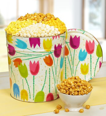 The Popcorn Factory® Tulips Popcorn Tin