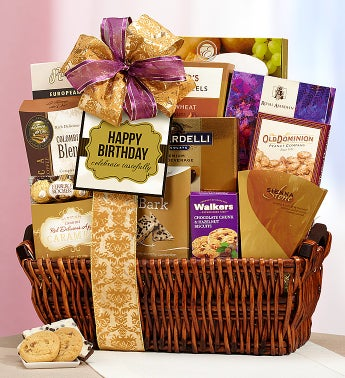 Tasteful Expressions Happy Birthday Gift Basket