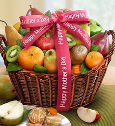 Happy Mother's Day Premium Fruits Gift Basket