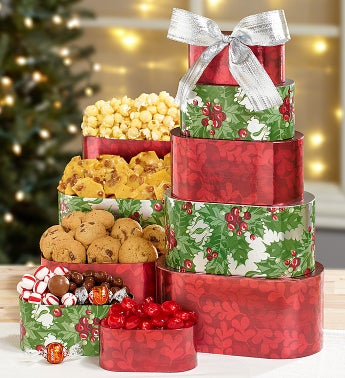 Holiday Celebration Sweets Tower