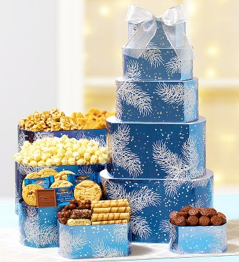 Winter Wonder Decadent Sweets Tower