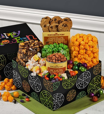 The Popcorn Factory® Happy Halloween Sampler Box