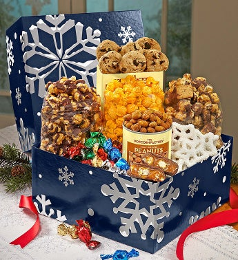 The Popcorn Factory® Snowy Night Sampler