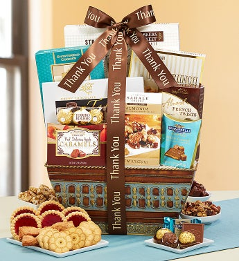 You're the Best! Thank You Gourmet Gift Basket