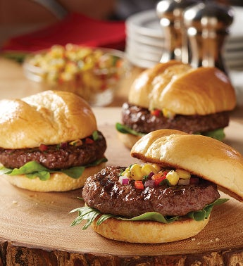 USDA Prime & Choice Mini Steak Burgers
