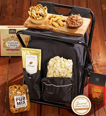 Cooler Backpack & Camping stool Snack Set