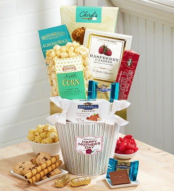 Send Mom a Smile Sweets Gift Basket