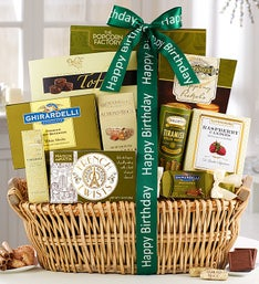 Grandest Birthday Wishes Gift Basket