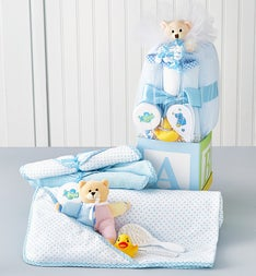B-is-for-Baby Boy Gift Cube