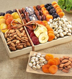 Fruitful Harvest Dried Fruit  Nut Crate
