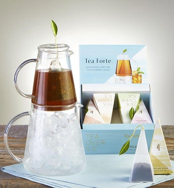 Tea Forte® Tea Over Ice® Pitcher Gift Set