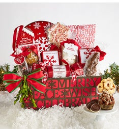 Gourmet Chocolate Cheer Holiday Gift Basket