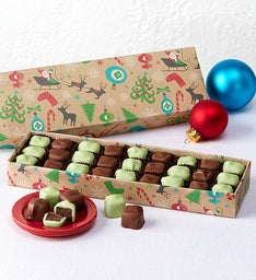 Fannie May® Holiday Mint Meltaways Chocolates