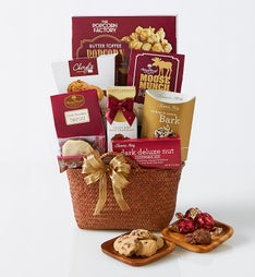 Decadent Delights Gift Basket