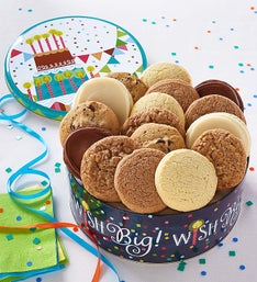 Cheryl's Musical Birthday Gift Tin-16CT Sugar Free