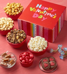 The Popcorn Factory Valentines Snack Assortment