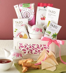 Love You Mom! Relaxing Tea Gift Basket