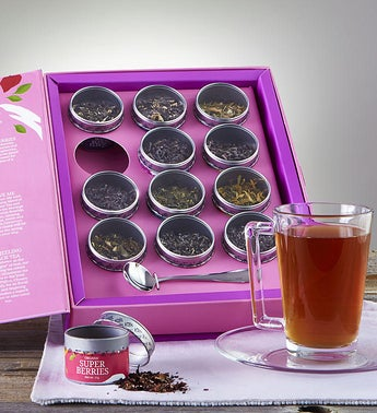 Treat Yourself Organic Tea Book