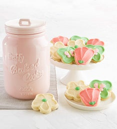 Cheryl's Mother's Day Ceramic Mason Cookie Jar