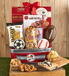 The Ultimate Sports Fan Gift Basket
