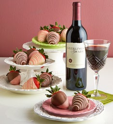 Mother's Day Strawberries & Cabernet Sauvignon