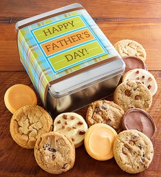 Cheryl's Happy Father's Day Cookie Tin