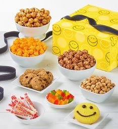 The Popcorn Factory Smiley Dot Sampler