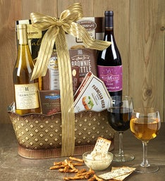 Toast & Celebrate Wine Gift Basket