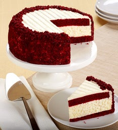Juniors Red Velvet Cheesecake