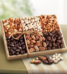 Caring Thoughts Sweet  Savory Nuts Gift