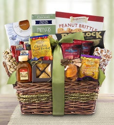 Kosher Gourmet Sweets & Savories Gift Basket