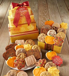 Cheryl's Autumn Greetings Gift Tower