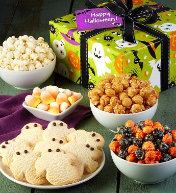 The Popcorn Factory Happy Halloween Sampler Box